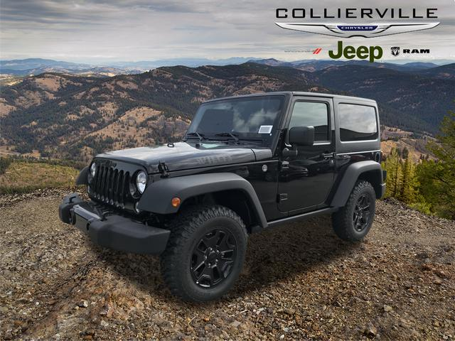 New 2018 JEEP Wrangler Willys Wheeler