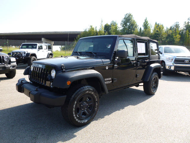 Certified Pre-Owned 2017 Jeep Wrangler Unlimited