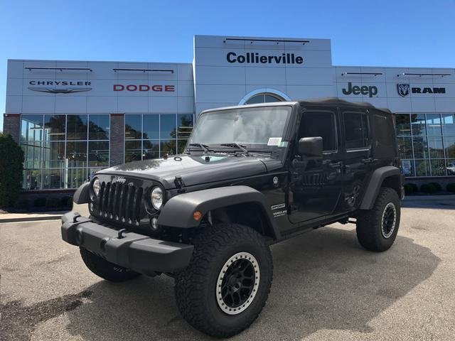 New 2017 JEEP Wrangler Unlimited SPORT 4X4